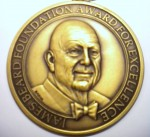 Winner of the James Beard Award
